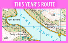 THIS YEARS ROUTE
